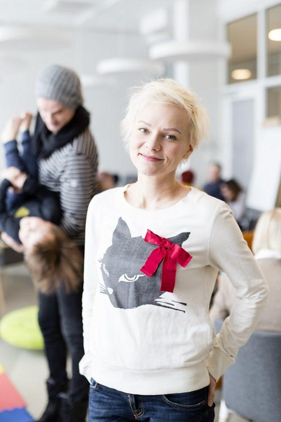 Yhteisöllistä asumista. Kuva: Heli Blåfield